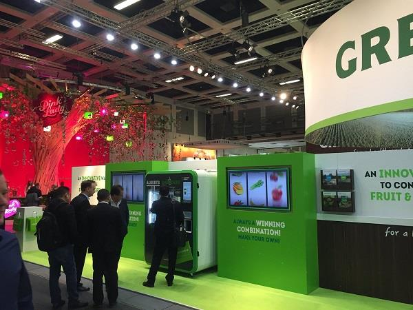 Greenyard News: Live From Berlin: The First Vending Machine For Fresh